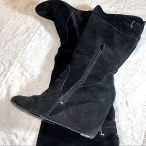 NINE WEST Olisha Wedge Boots